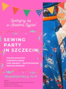 SEWING PARTY IN SZCZECIN VOL.1